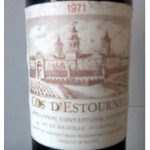 Cos d'Estournel 1971