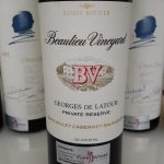 Beaulieu Vineyard Georges De Latour Private Reserve Cabernet Sauvignon 1987